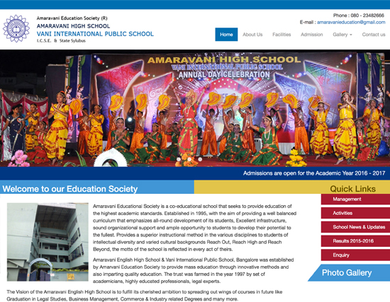 Amaravani Educational Society